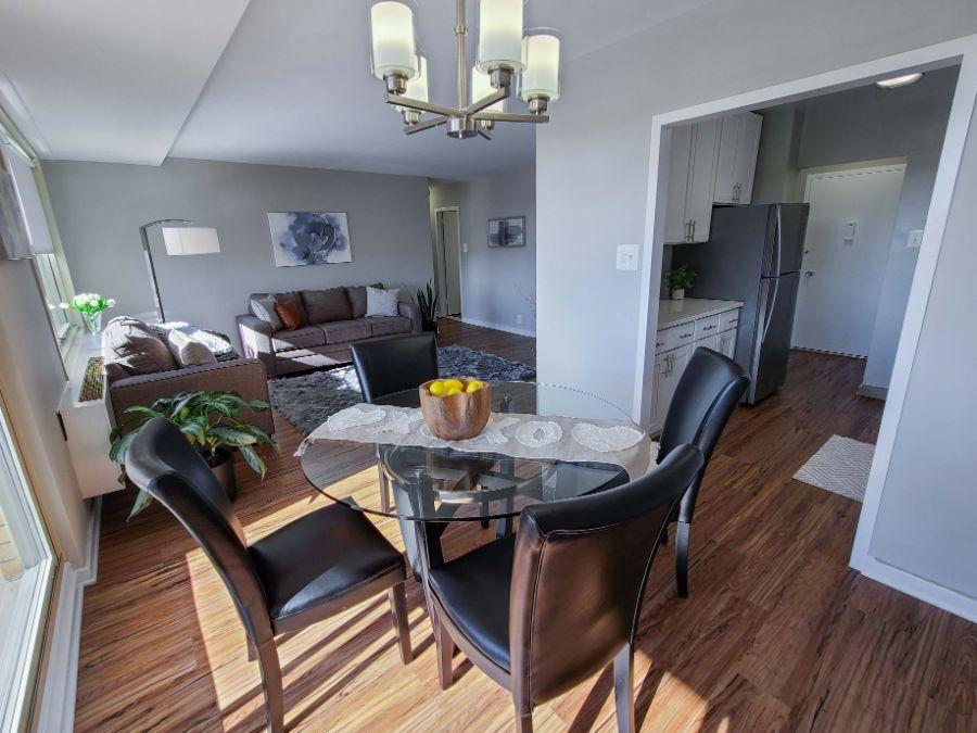 luxury dining room