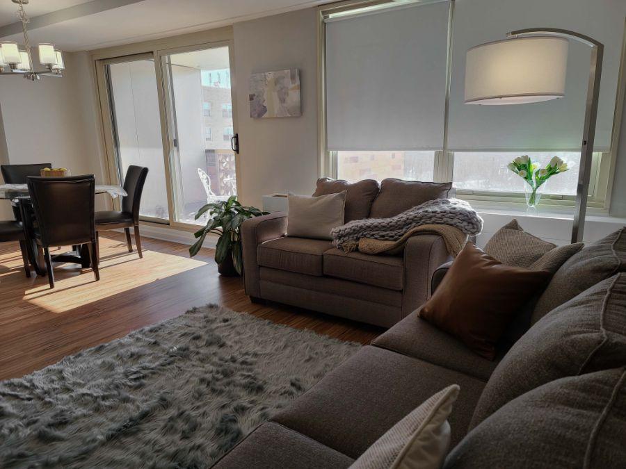 spacious living space