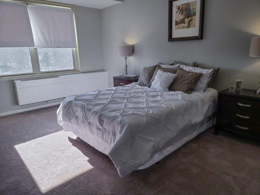 spacious and tranquil bedroom