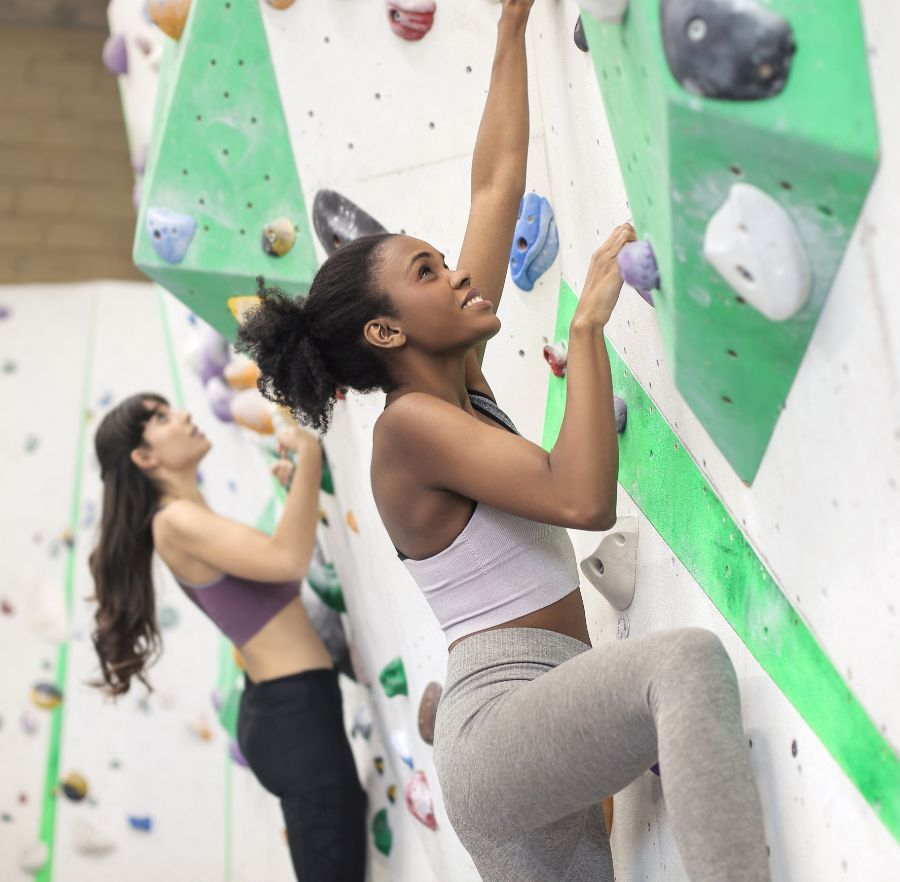 rock climbing and activities in the area