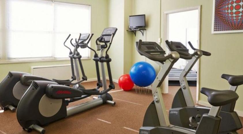 updated workout equipment