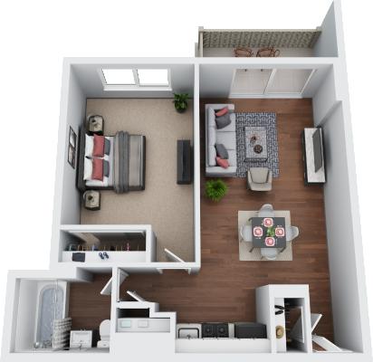 1 Bedroom Jr